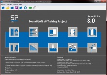 SoundPLAN v8 Manager GUI
